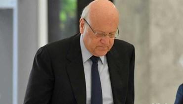 رئيس الحكومة اللبنانية نجيب ميقاتي.