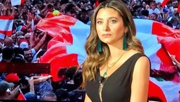 """الإعلامية الزميلة في قناة """"الجديد"""" ليال سعد."""