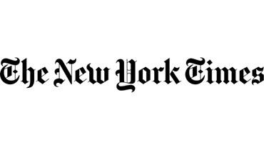 """شعار صحيفة """"نيويورك تايمس"""" الاميركية."""