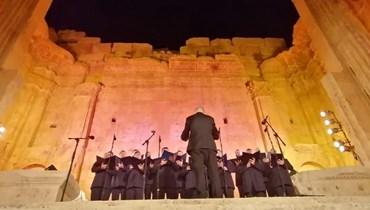 موسيقى روسية في رحاب معبد باخوس في بعلبك