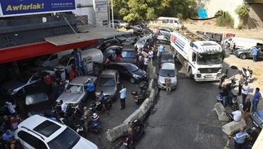 أزمة المحروقات صباح اليوم 20 أيلول 2021 (حسام شبارو).