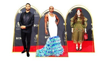 Emmys 2021:  أجمل إطلالات السجادة الحمراء