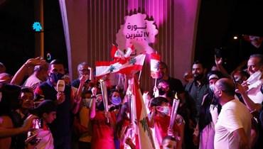 خريطة الانتفاضة (6) - عناوين كبرى في جبل لبنان وتحضيرات انتخابية