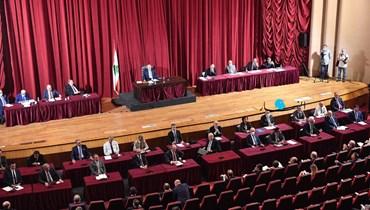 جلسة للمجلس النيابي (تصوير نبيل اسماعيل).