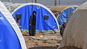 """مخيمات اللجوء السوري (تعبيرية- """"أ ف ب"""")."""