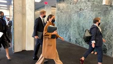 """سيحضران مناسبة """"المواطن العالمي""""... الأمير هاري وميغان يلتقيان نائبة غوتيريس بالأمم المتحدة"""