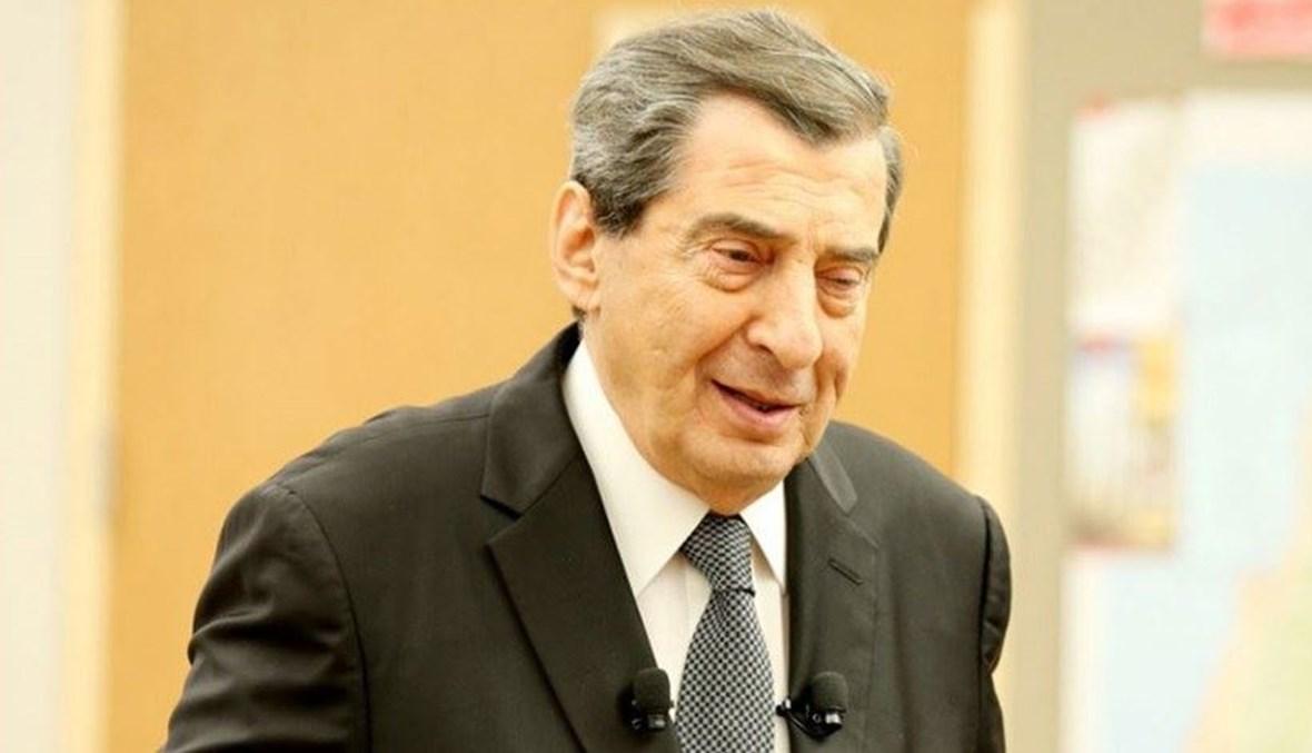 نائب رئيس مجلس النواب إيلي الفرزلي.