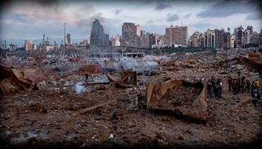 """""""Beirut 6:07"""" يذكّر العالم بمجزرة مرفأ بيروت... """"الضحايا في قلوب أحبّائهم"""" فهل تُفتح الطريق إلى العدالة؟ (صور)"""