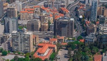 مشهد من العاصمة بيروت (نبيل اسماعيل).