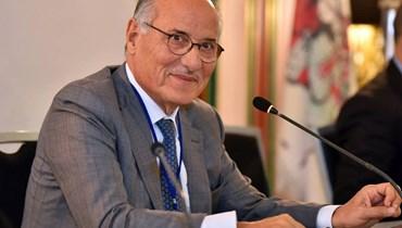 وزير التربية عباس الحلبي.