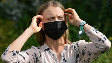 ناشطة المناخ غريتا تونبري (أ ف ب).