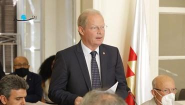 من لقاء حزب الوطنيين الأحرار في البيت المركزي في السوديكو (مارك فياض).