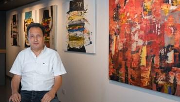 """""""درويش"""" الذات والاختلاف للرسام رؤوف الرفاعي في """"إكسبو دبي"""" بمشاركة غاليري نادين فياض"""