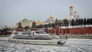 الساحة الحمراء في موسكو (أ ف ب).