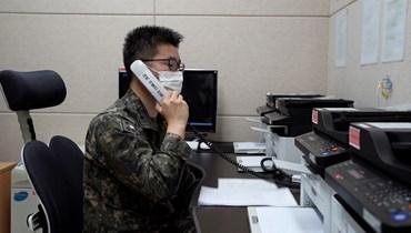 عودة التواصل بين الكوريّتين (أ ف ب).