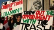 Des femmes libanaises participent à une manifestation à Beyrouth. (AFP)