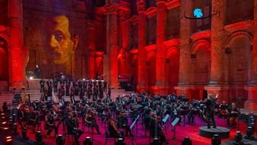 L'Orchestre philharmonique du Liban- Baalbek (Nabil Ismail).