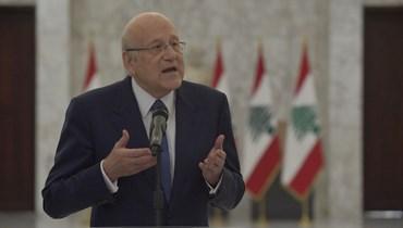 رئيس الحكومة نجيب ميقاتي (نبيل اسماعيل).