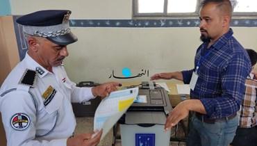 الانتخابات العراقيّة الخاصّة (مراسل النهار).