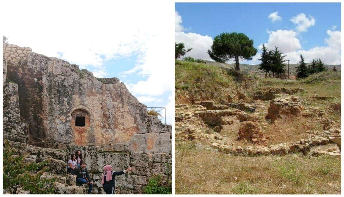 معالم كامد اللوز الأثرية (ريم قمر)