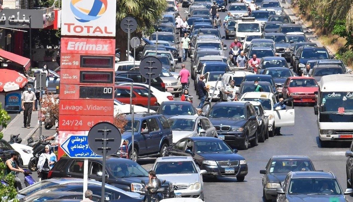 زحمة سير في بيروت (تعبيرية- نبيل اسماعيل).