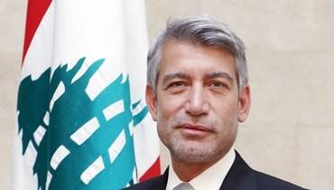 وزير الطاقة والمياه وليد فياض.