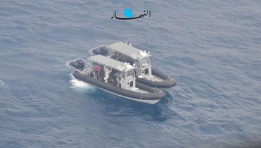 عمليات البحث عن المفقودَين في حادثة سقوط الطائرة (حسام شبارو).