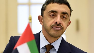 وزير خارجية الإمارات عبدالله بن زايد (أ ف ب).
