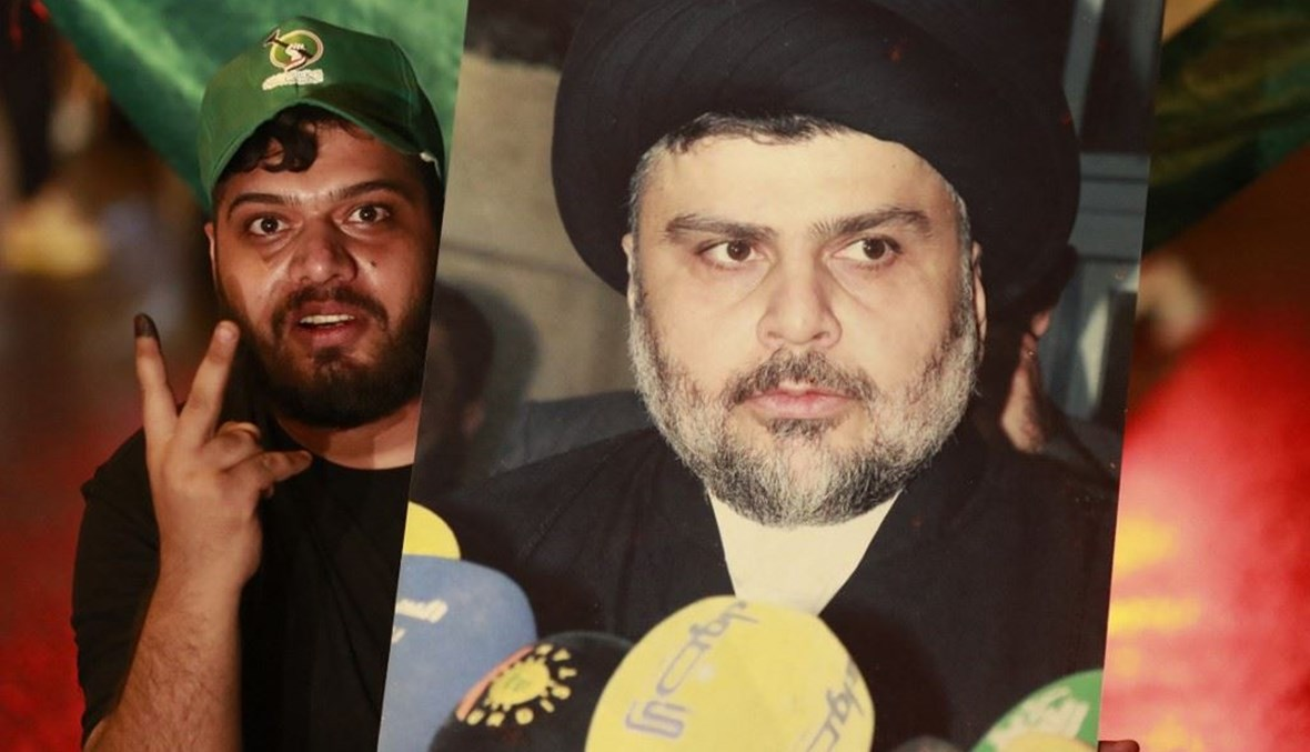 مناصر لمقتدى الصدر في العراق.