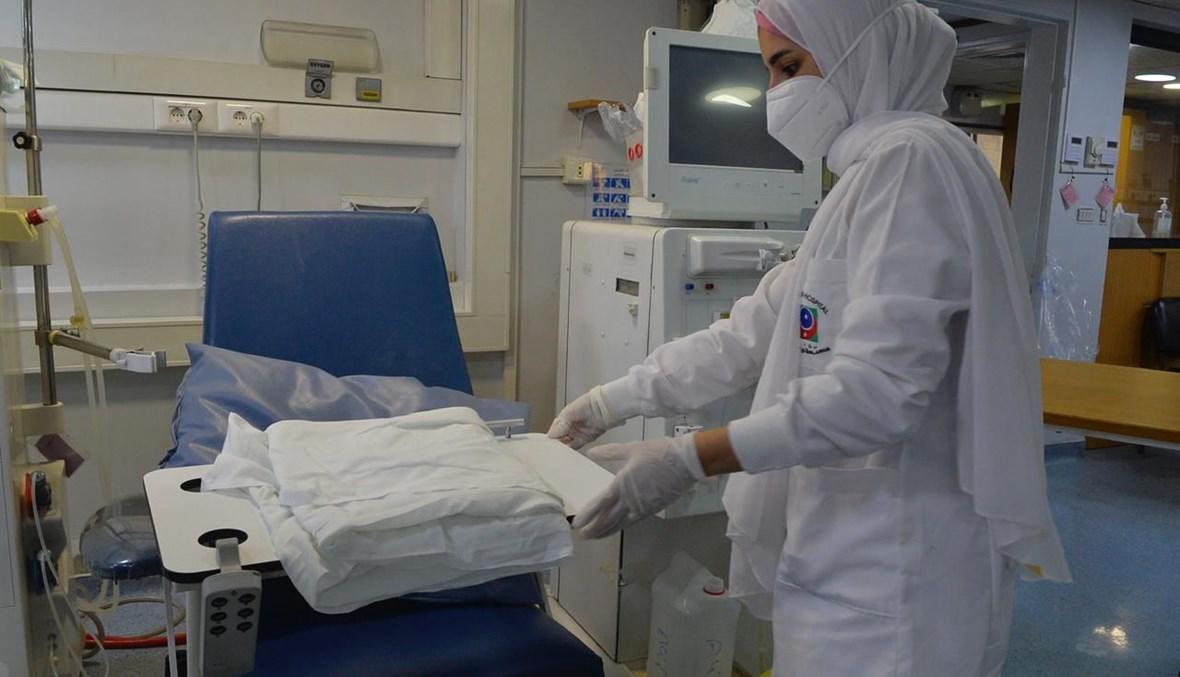 ممرضة في مستشفى بهمن (حسام شبارو).