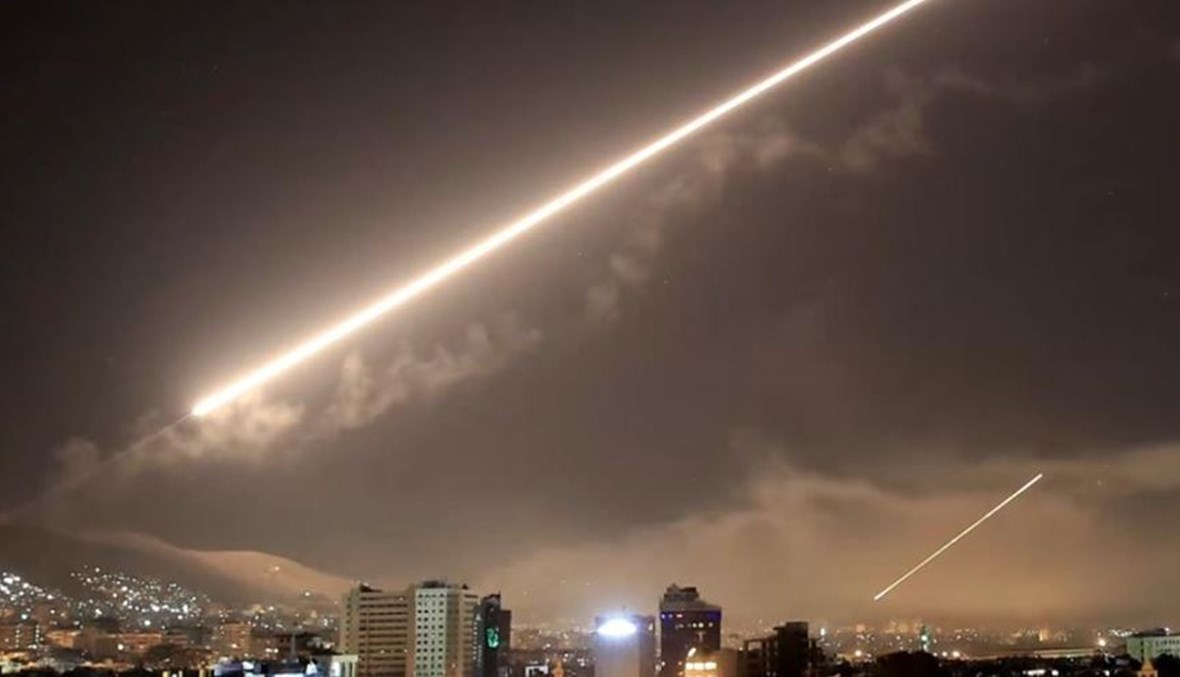 قصف إسرائيلي على سوريا (أرشيفية).