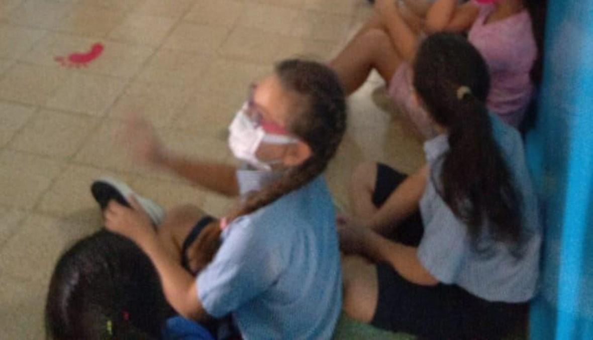 هلع تلامذة في مدرسة محيطة باشتباكات الطيونة.