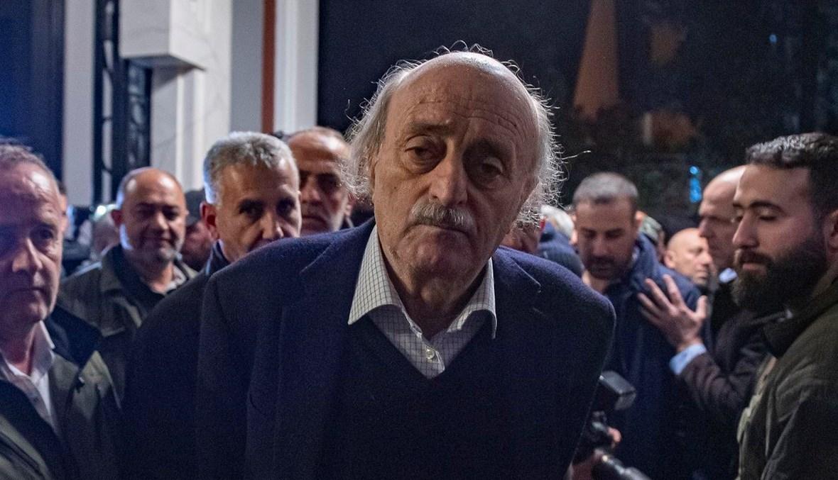 رئيس الحزب التقدّمي الاشتراكي وليد جنبلاط (نبيل إسماعيل).