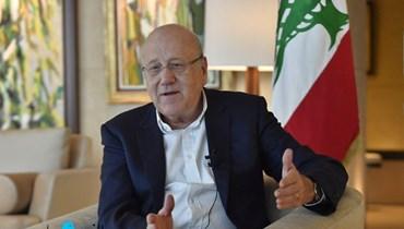 رئيس الحكومة نجيب ميقاتي (نبيل إسماعيل).