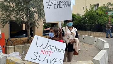 استعبدوها لكنّها نجَت وتكلَّمت... أوّل عاملة منزل أجنبيّة في لبنان تقاضي كفيلتها