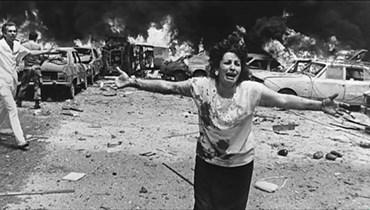 من مآسي الحرب اللبنانية. (أرشيفية).