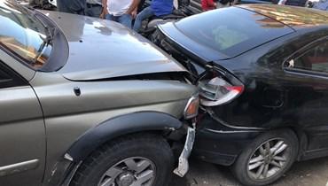 حادث سير في طرابلس.