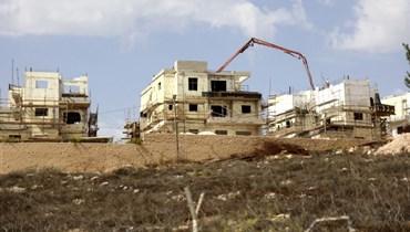 """واشنطن تعرب عن """"قلق عميق"""" إزاء بناء مساكن استيطانية إسرائيلية جديدة في الضفة الغربية"""