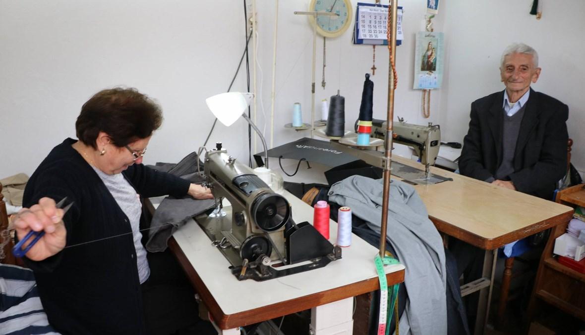زاغيك طوسونيان: الخياطة مهنة الصبر