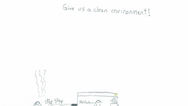 Give us a clean environment