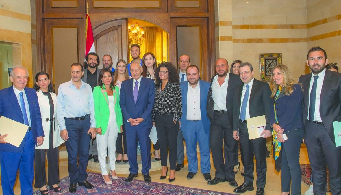 """مبادرة """"النهار"""" لشرعة دعم الصناعة اللبنانية \r\nإجماع الكتل النيابية على تأييد ورقة وزير الصناعة و""""النهار"""" لدعم الصناعيين"""