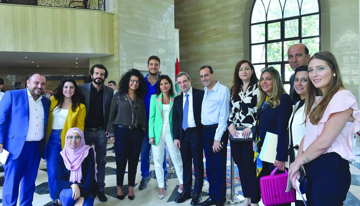"""أبو فاعور في حوار صناعي مع """"النهار"""": الصناعة قضية وطنية وقادرة على جلب النقد النادر إلى لبنان"""