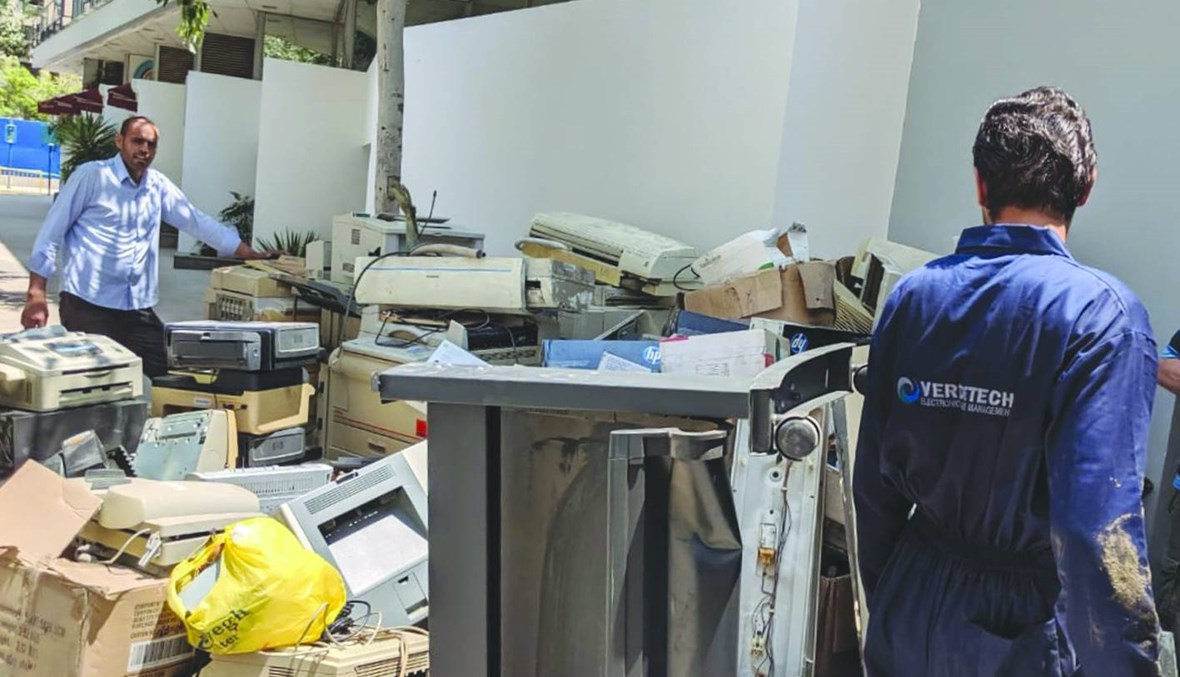 Verdetech تعيد تدوير النفايات الكهربائية والإلكترونية للحدّ من المخاطر البيئية