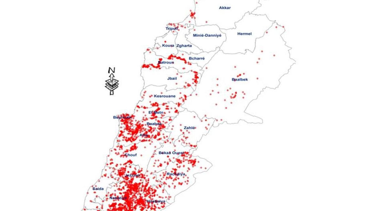 لبنان يحقق إنجازاً على صعيد تنظيف المناطق الملوثة بالألغام