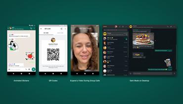 واتساب تضيف ميزات جديدة في تطبيقها: مكالمات الفيديو حتى 8 أشخاص أبرزها