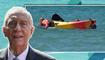 """""""انقلب القارب وجرفهما التيار""""... رئيس البرتغال السبعيني يُنقذ شابتين من الغرق"""