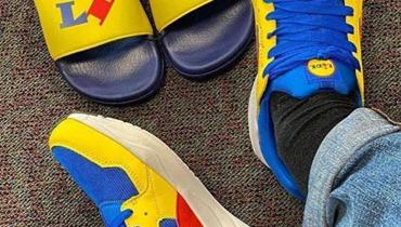"""أحذية Lidl الرياضية تباع بـ13 أورو... """"وهي أغلى بمئة مرة على الإنترنت""""!"""