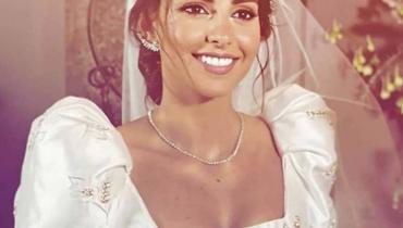 فاليري أبو شقرا عروس 2020.... فستان مصمّم خصيصاً لها يُذكّر بفساتين الأميرات