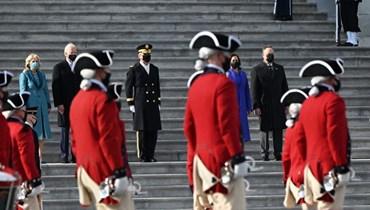 التغطية المباشرة لتنصيب بايدن رئيساً للولايات المتحدة