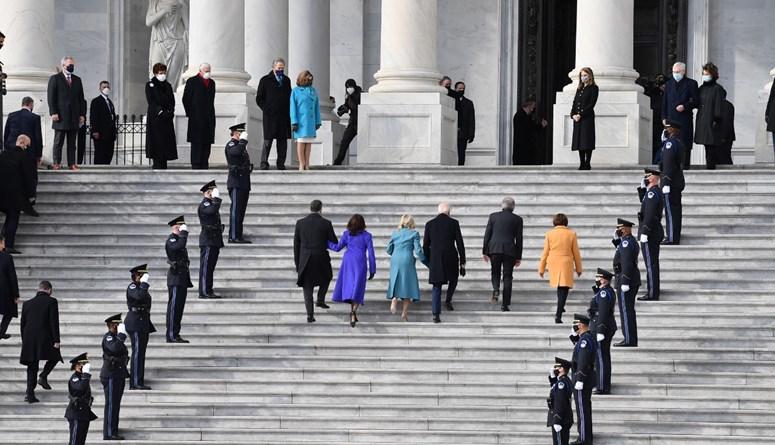 بدء مراسم تنصيب بايدن رئيسا للولايات المتحدة
